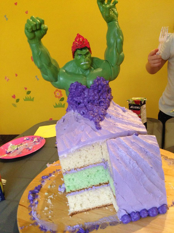 hulk-princess-cake-4-year-old-girls-twins-9