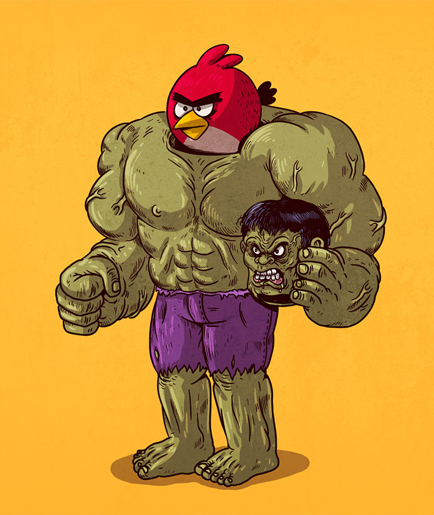 illustrator-reveals-what-lies-under-the-masks-of-famous-characters-13