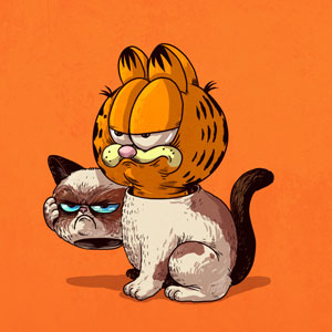 Illustrator Reveals What Lies Under The Masks Of Famous Characters