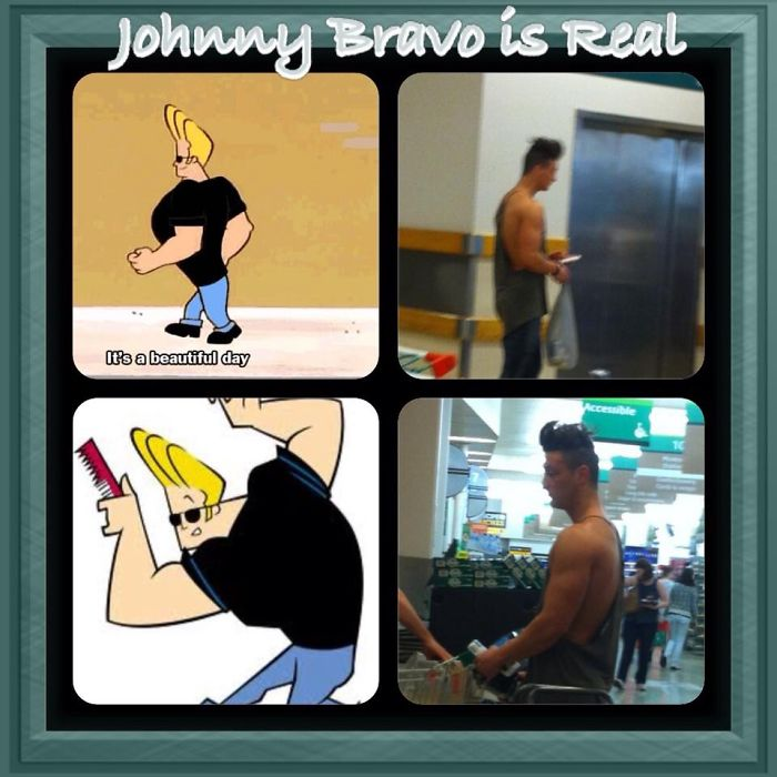 Johnny Bravo Is Real
