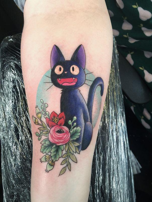 Jiji Tattoo By @lizbakerart