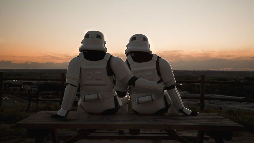 I Capture Stormtroopers On Their Days Off