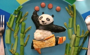 I Make Panda-Inspired Food For My 4 Children