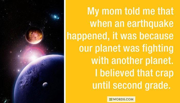 Lies Parents Tell Their Kids