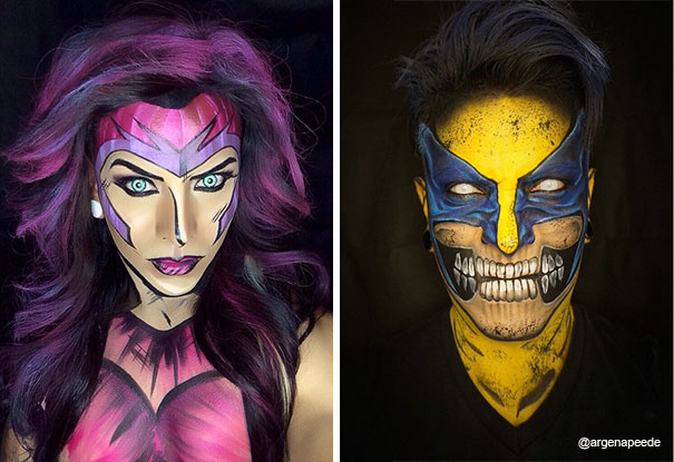 make-up-body-art-comic-book-superhero-cosplay-argenis-pinal-18