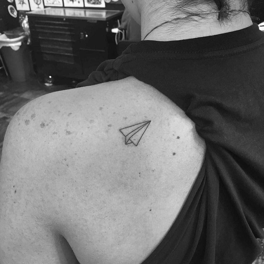 Minimalist tattoo art by the famous jonboy who inked for Minimal art tattoo