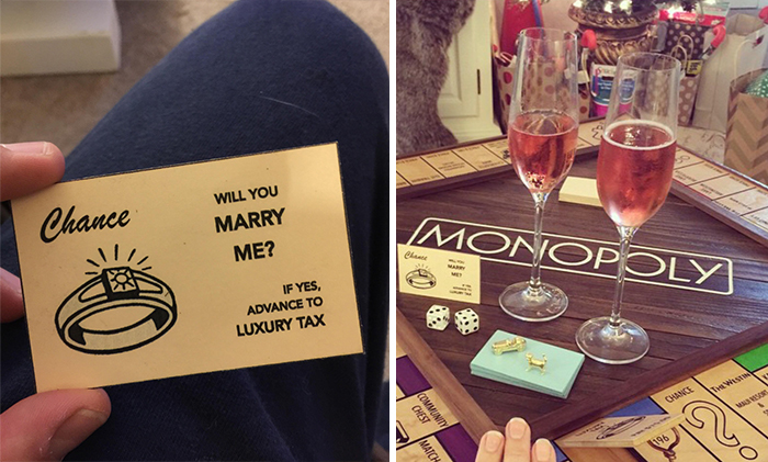 Guy Proposes Using Custom-Made Monopoly Board With Secret Compartment
