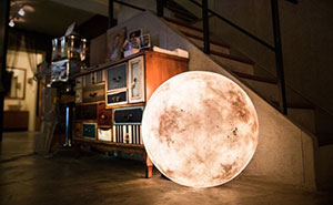 Luna Lamp Brings The Moon Into Your Room