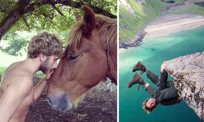 'Men Of Outdoors' Instagram Is Dedicated To Hot Guys Engaged In Nature Activities