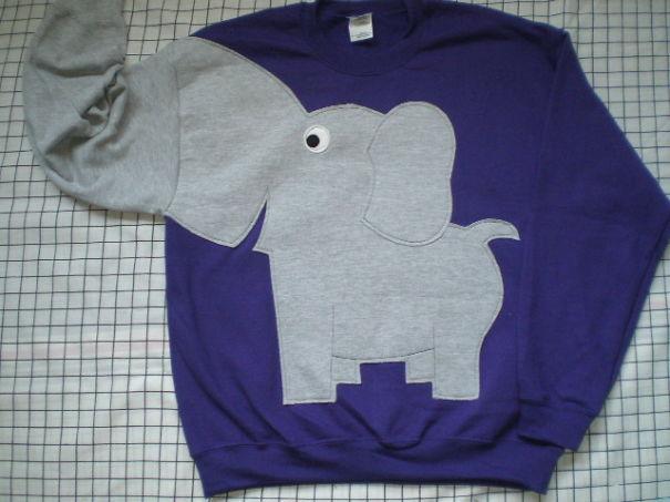 e1d9e2690938f Elephant Sweatshirt (etsy.com)