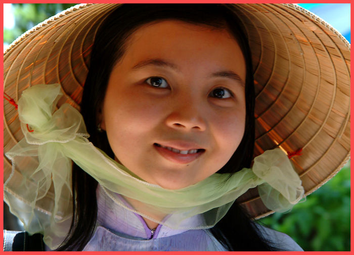 Smile Viet Nam Girl