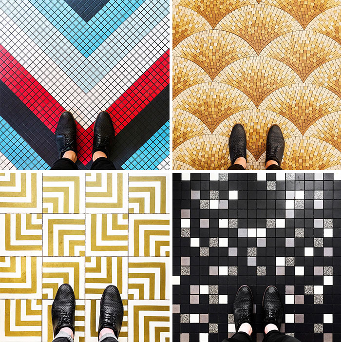 Parisian Floors Photo Series Reminds Us To Look Down More Often