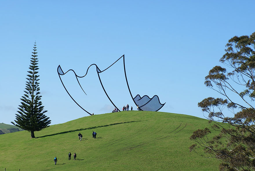 Sculpture In New Zealand