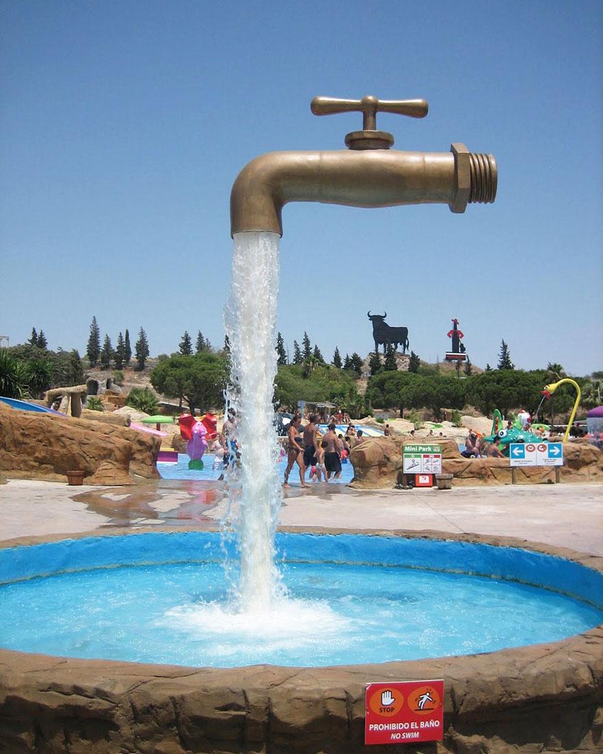 Magic Tap Fountain