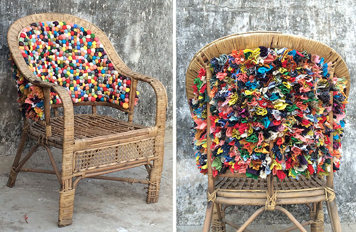 Pixel Chair: I Gave Old Chair New Life