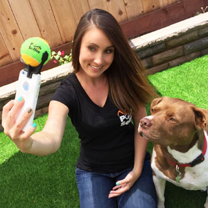 Genius Phone Accessory That'll Make Your Dog Pose For The Perfect Selfie