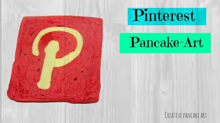 Social Pancake -pinterest Pancake Art-creative Pancake Art