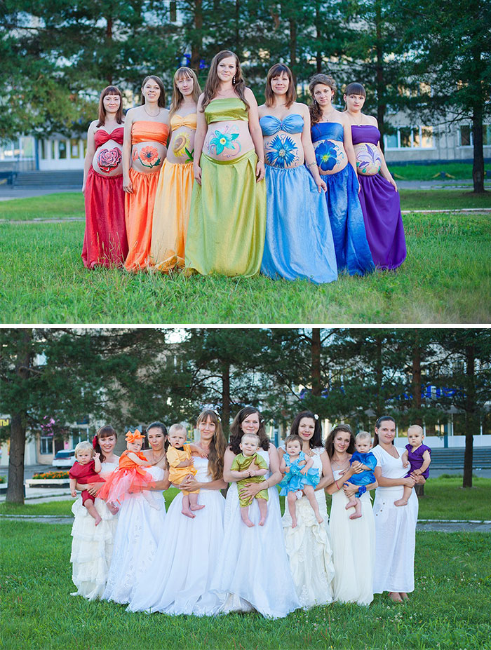 Rainbow Babies: Photo Gives Hope To Expecting Mothers Who've Had Miscarriages And Stillbirths