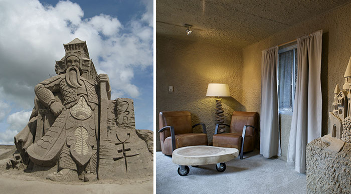 We Created The First Sand Hotel In The World And We Think It's Sandtastic