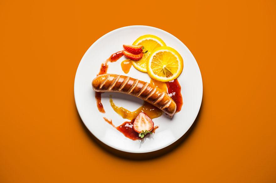 strange pregnancy food cravings photographed like gourmet