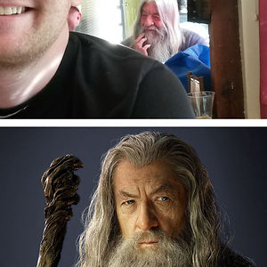 Went To The Bar And Saw Gandalf