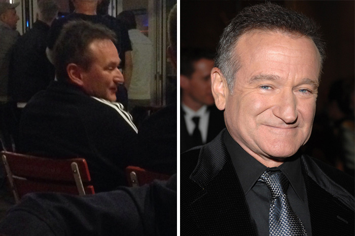 Pretty Sure I Saw Robin Williams Identical Twin While On Vacation In Germany