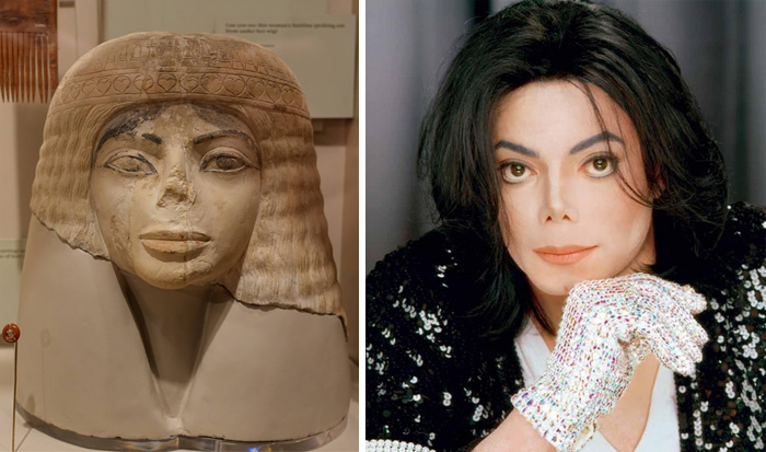 This 3,000 Year Old Egyptian Bust Looks Mildly Like Michael Jackson