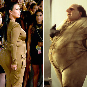 Kim Kardashian Looks Like The Penguin From Batman Returns