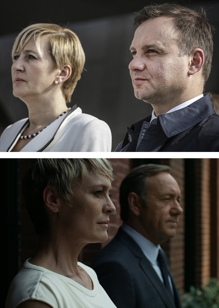 Poland's New President And His Wife Look Like Claire And Frank Underwood From House Of Cards