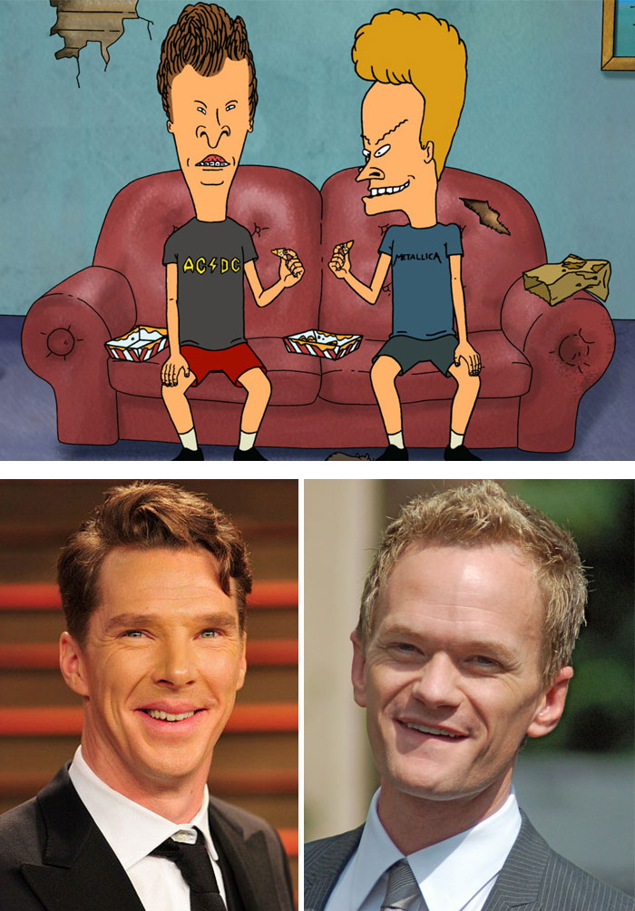 Neil Patrick Harris And Benedict Cumberbatch Look Like Beavis And Butt-Head