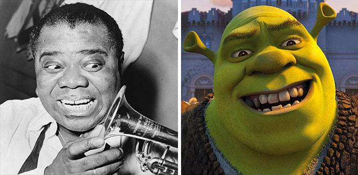Louis Armstrong Look Like Shrek