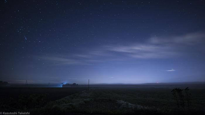 Starry Sky In Hokkaido