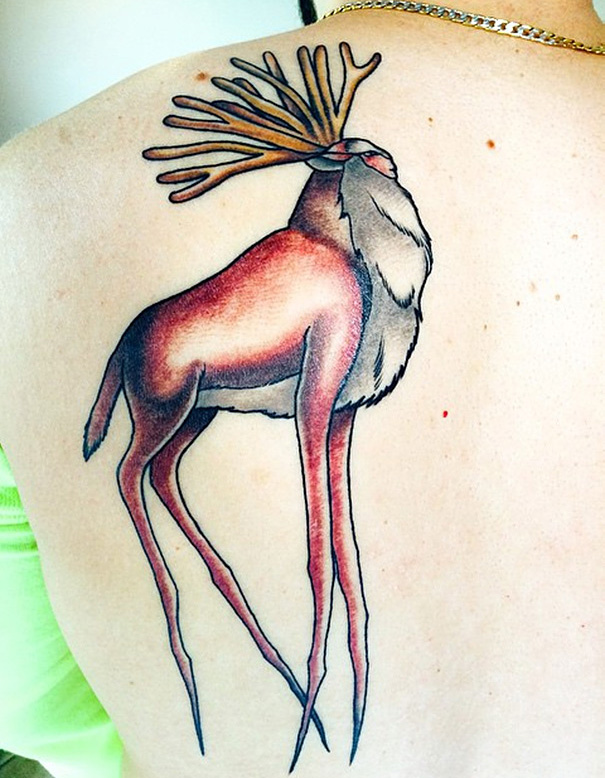 Spirit Of The Forest From Princess Mononoke Tattoo