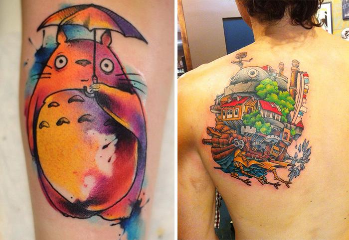 61 Studio Ghibli Tattoos Inspired By Miyazaki Films