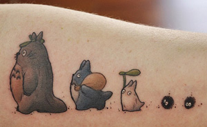 20+ Studio Ghibli Tattoos Inspired By Miyazaki Films