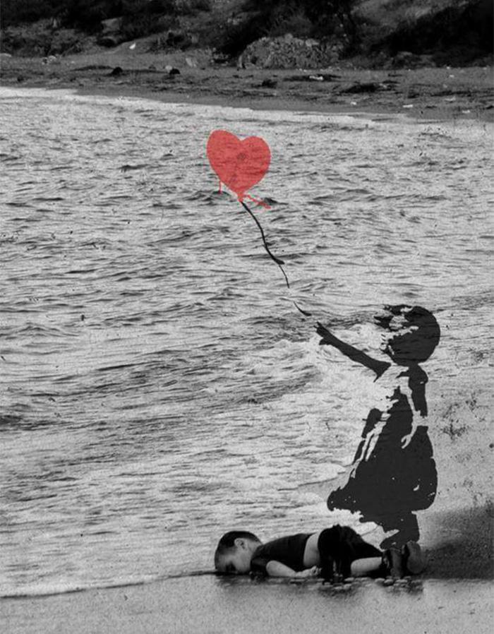 Humanity Washed Ashore