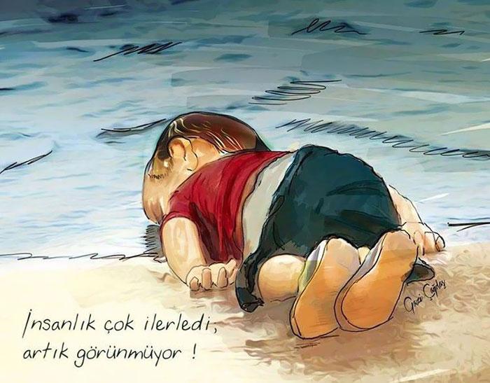 aylan kurdi bild ist fälschung
