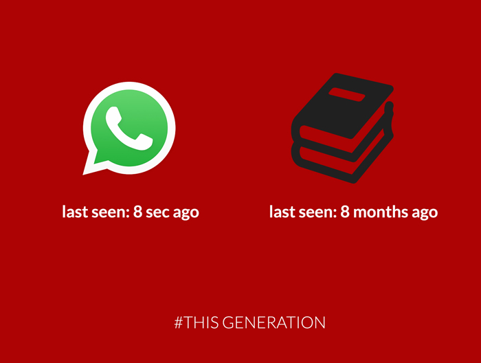 20+ Brutally Honest Posters Show Our Addiction To Technology