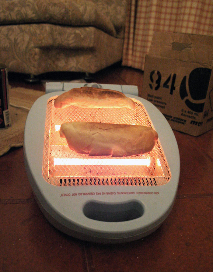 Never Had A Toaster During Uni .. No Problem !