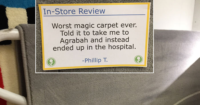 Guy Trolls Ikea By Putting Fake In Store Reviews All Over The Place