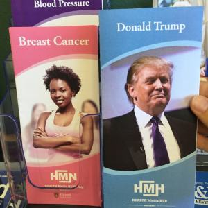 I Added This Fake Health Brochure About Donald Trump To A Doctor's Waiting Room