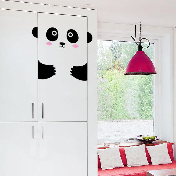 Panda Cupboard Sticker