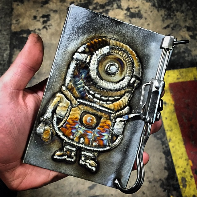 Stunning Welding Art By 23 Year Old Welder From Chicago