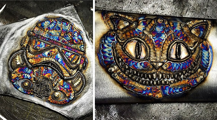 Stunning Welding Art By 23-Year-Old Welder From Chicago