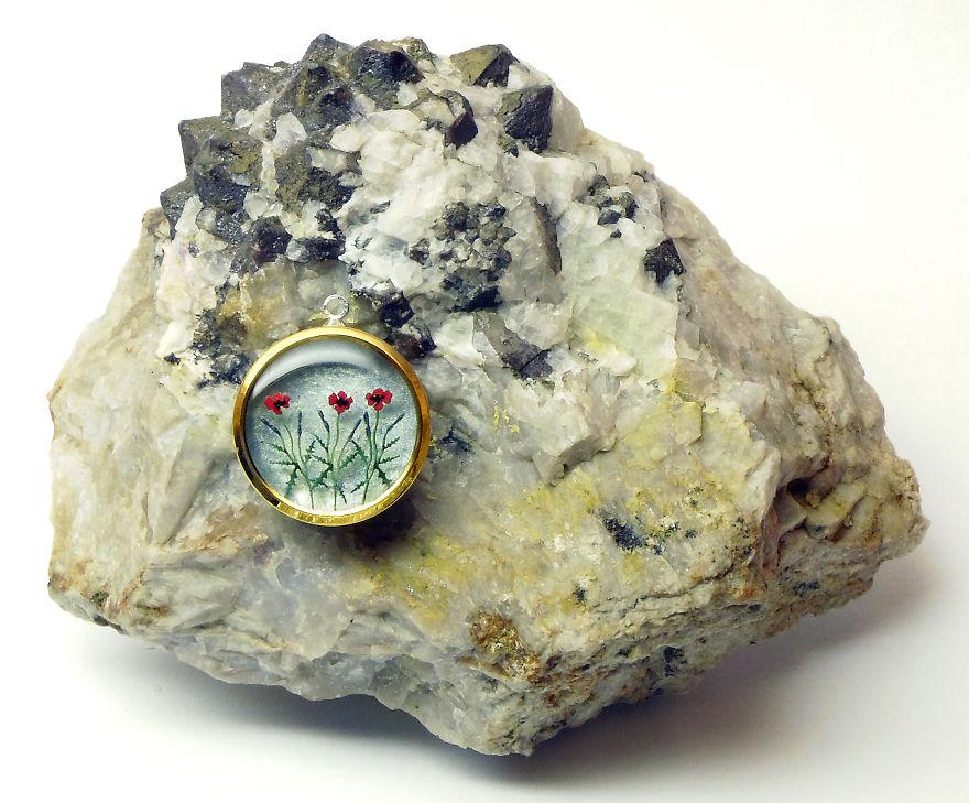 Jewellery With Miniature Flowers