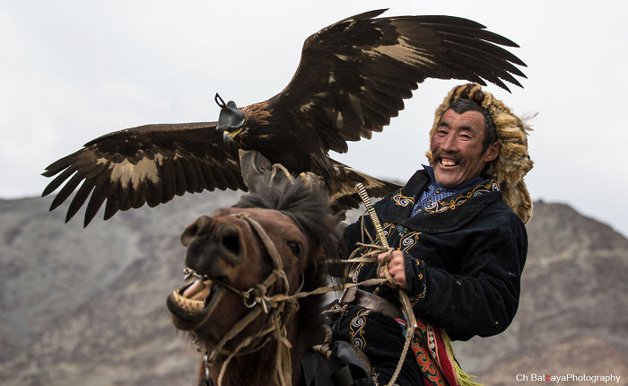 Moments From The Golden Eagle Festival In Mongolia