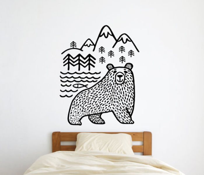 Bear In The Mountains.