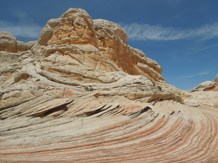 Striations In The Rock