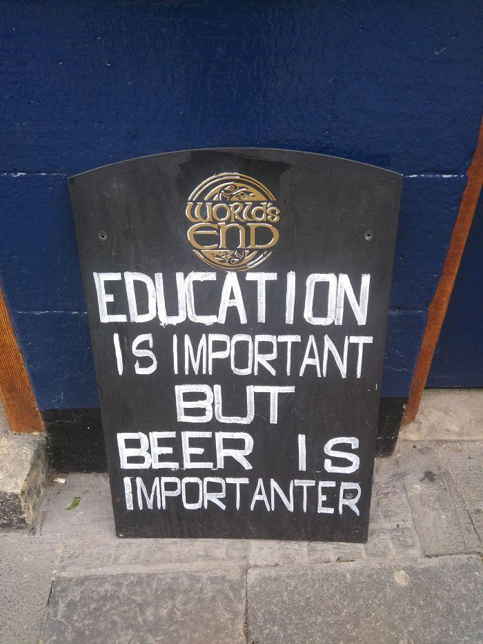 But Beer...