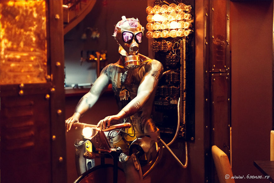The First Kinetic Steampunk Bar In The World Opens In